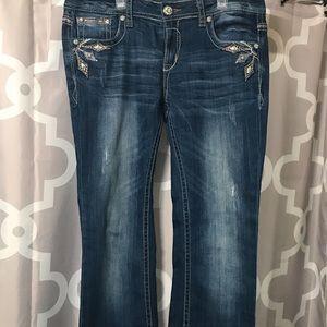 Grace in LA boot cut jeans 30 waist and 30 inseam